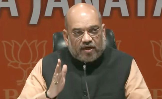 What is the Intention behind Amit Shah comments on NRC - Sakshi