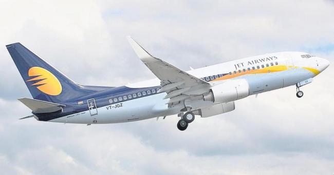Jet Airways service between indoor-Hyderabad - Sakshi