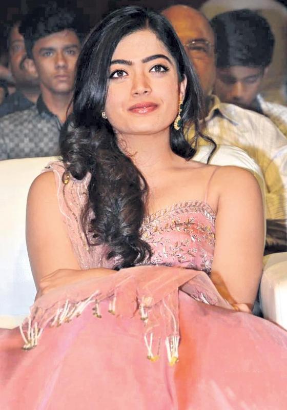 I am acting with Vijay, engaged to Rakshit - Sakshi