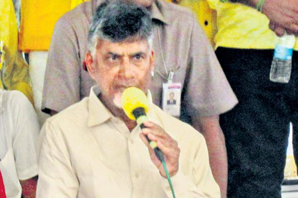 Expose BJP's duplicity,Naidu tells party MPs - Sakshi