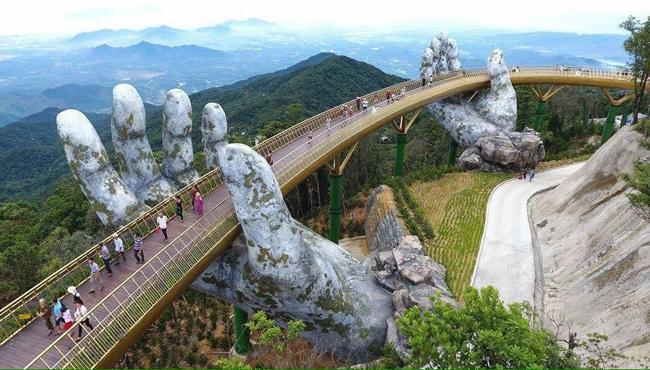 Vietnam Golden Bridge - Sakshi