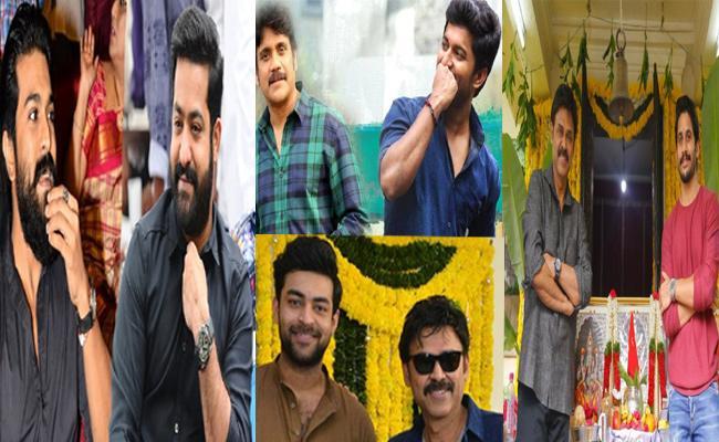 Multi Starrer Movie Trend In Tollywood - Sakshi