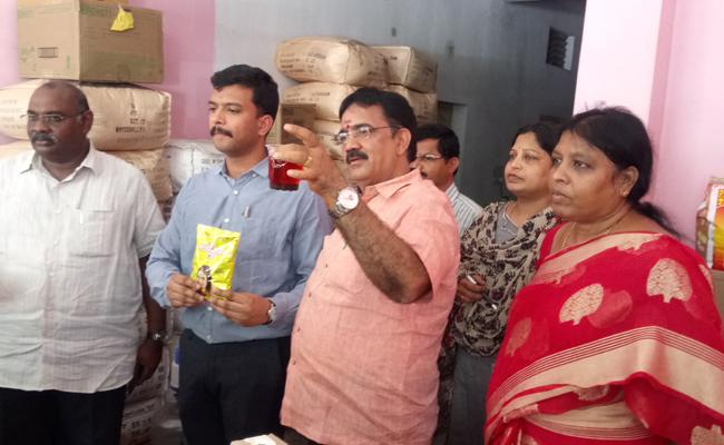 Tea Powder Adulteration In Krishna - Sakshi