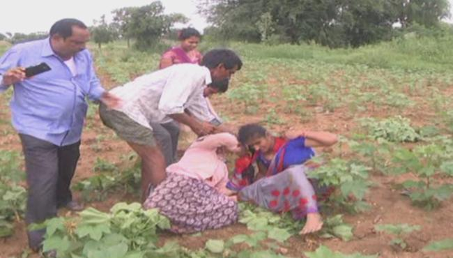 Land Disputes Video In Mahabubabad Goes Viral In Telangana - Sakshi