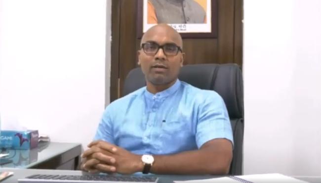 Dharmapuri Arvind On Dharmapuri Sanjay Issue And TRS Government - Sakshi