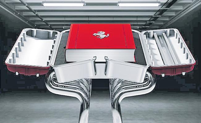 Book Published Over Ferrari Car Models And Car History - Sakshi