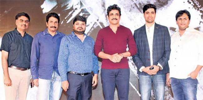 Nagarjuna Funny Speech @Goodachari Movie Success Meet - Sakshi