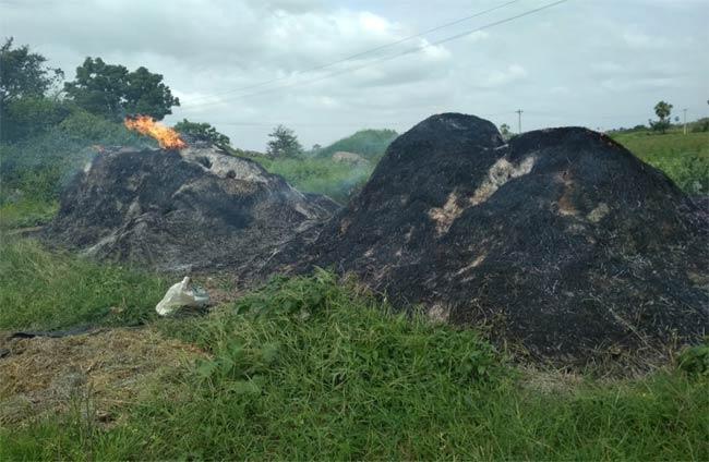 Haystack Burned - Sakshi