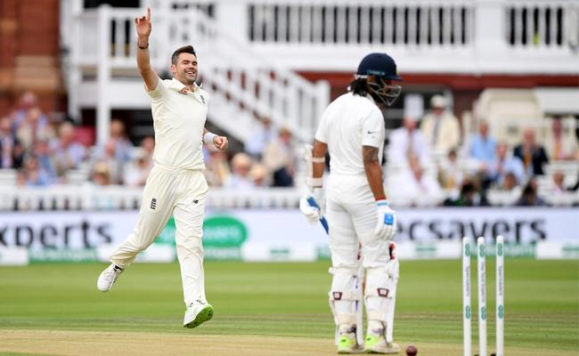 India Openers Packup at Lords Test Against England - Sakshi