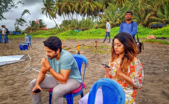 Naga Chaitanya Sailaja Reddy Alludu Song Shoot In Goa - Sakshi