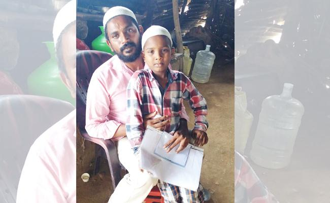 Boy Suffering With Cancer In Darshi Prakasam - Sakshi