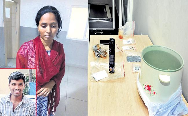 Devika And Her Boyfriend Remands In Murder Case - Sakshi