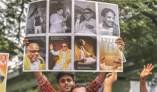 Kanimozhi Criticizes EPS Govt Over Sterlite Plant Setback - Sakshi