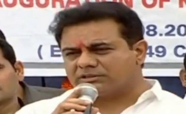 KTR Inaugurates Kamineni Flyover At LB Nagar - Sakshi