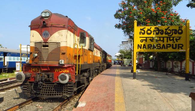 Special Trains For Narsapur, Kakinada - Sakshi