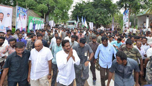 YS Jagan Padayatra 234th Day Schedule Released - Sakshi