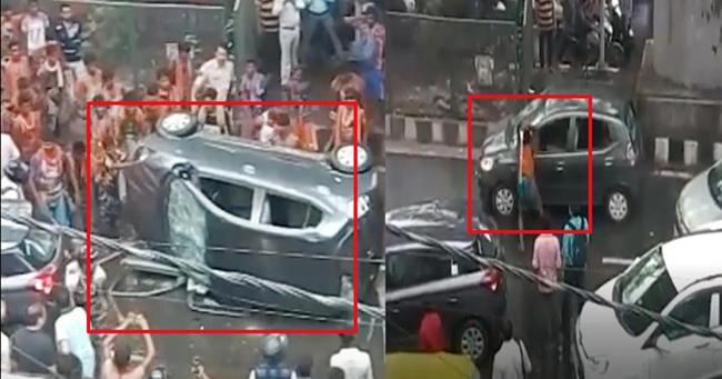 Violence In Kanwar Yatra - Sakshi