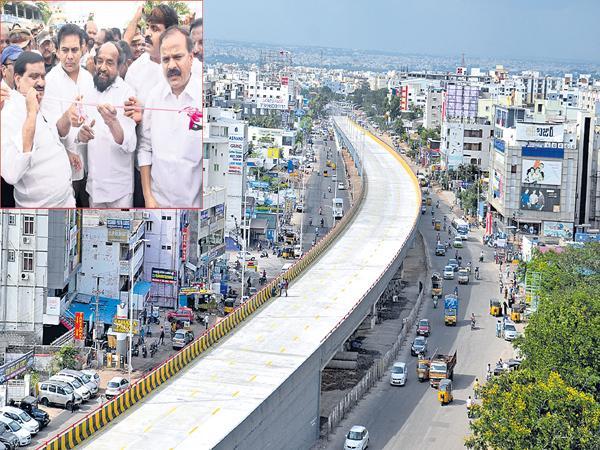 Ameerpet-LB nagar Metro Rail starts in September - Sakshi