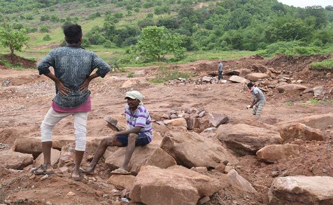 Illegal Mining In Adilabad - Sakshi