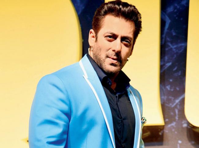 Salman Khan Accepts Fitness Challenge - Sakshi