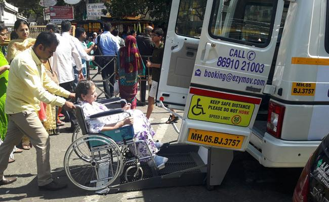 Easy Move Wheelchair Taxi Helpful To Ill People - Sakshi