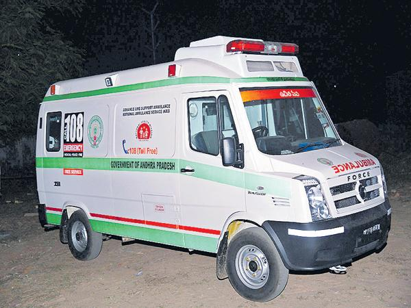Unprotected Ambulance Journey! - Sakshi