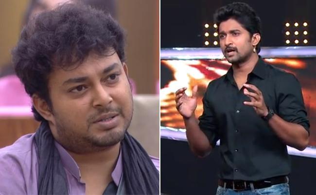 Bigg Boss 2 Host Nani Fires On Tanish - Sakshi