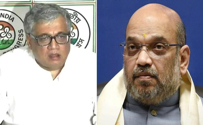 TMC Demands For Amit Shah Apologise - Sakshi