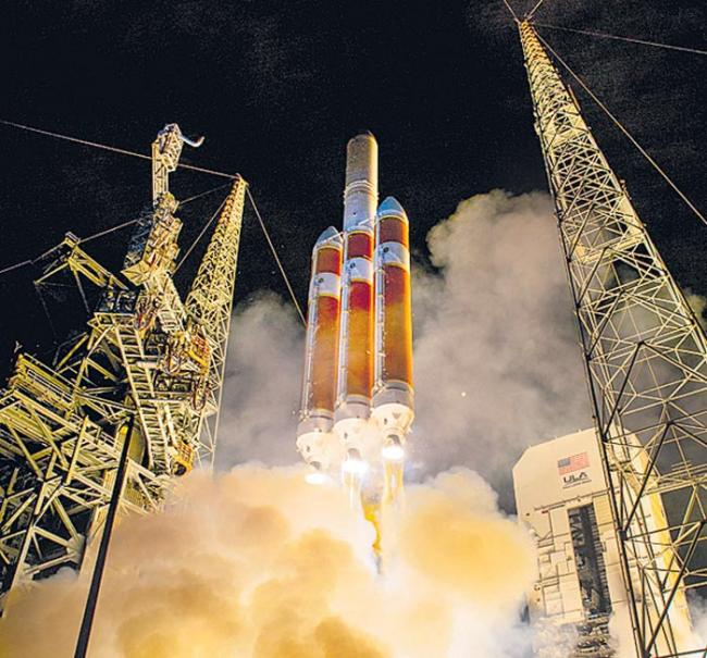 nasa parker solar probe rocket launch successful - Sakshi