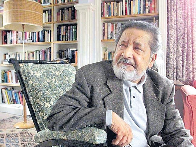V S Naipaul, Nobel prize winning author, passes away - Sakshi