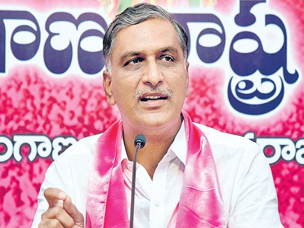 Minister Harish Rao Fires on Congress Party - Sakshi