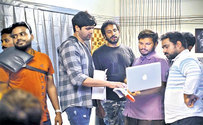 Goodachari Director Sashi Kiran Chit Chat With Sakshi