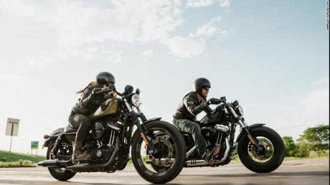 Trump Encourages Boycott Against Harley Davidson - Sakshi