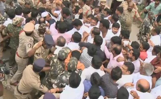 Ummareddy fires on TDP over illegal mining - Sakshi
