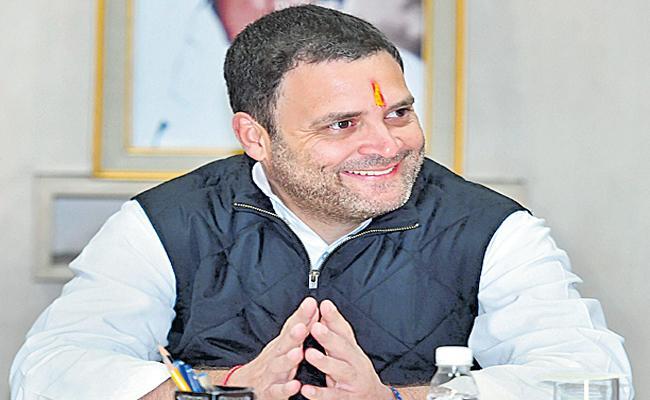 Rahul Gandhi Telangana Tour - Sakshi
