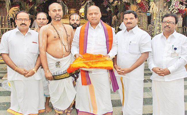 TTD Balalaya Maha Samprokshanam - Sakshi