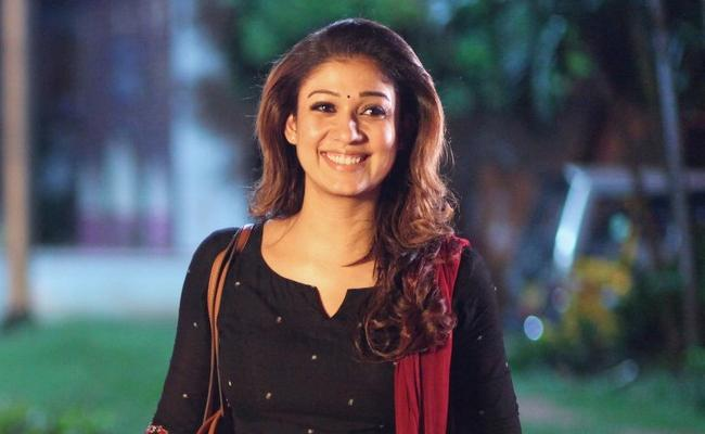 Record Remuneration For Star Heroine Nayanatara - Sakshi