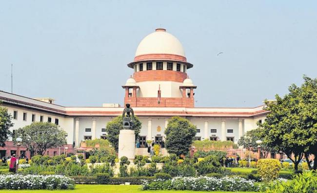 SC accepts Centre's proposal for use of coloured stickers ... - Sakshi