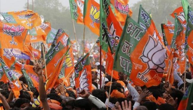 According To ABP News Survey BJP Likely To Face Defeat In MP Chhattisgarh And Rajasthan - Sakshi