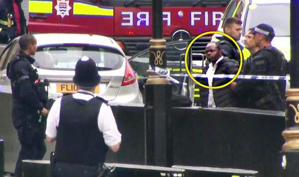 Westminster car crash: Man arrested as pedestrians injured - Sakshi
