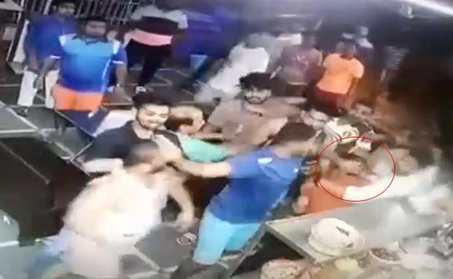 BJP corporator attacks on Shahi Bawarchi in Mumbai - Sakshi