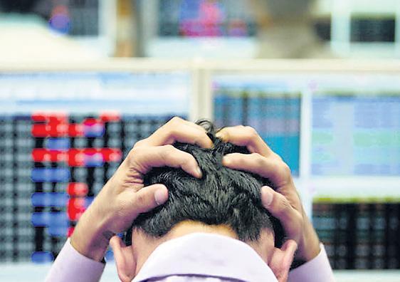 Sensex Loses 280 Points, Nifty At 11350 - Sakshi