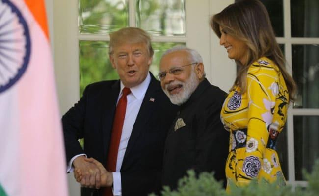Trump Joked He Could Play Matchmaker For PM Modi - Sakshi