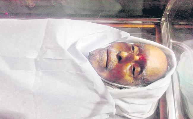 Former MLA Patolla Died - Sakshi