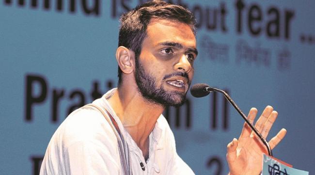 Umar Khalid Held BJP Spokespersons Responsible For The Attack - Sakshi