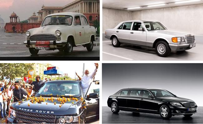 2018 Independence Day: Top 5 Cars Used By Prime Ministers And Presidents Of India - Sakshi