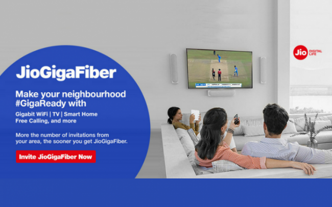 JioGigaFiber Registrations Open: Price, Preview Offers And All Details - Sakshi