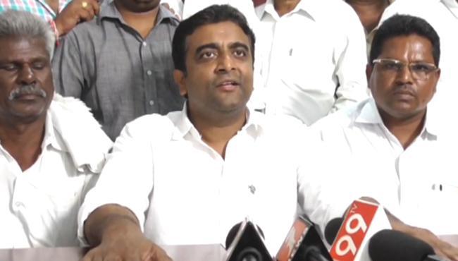 YSRCP Leader Kasu Mahesh Reddy Demands CBI Enquiry On Illegal mining - Sakshi