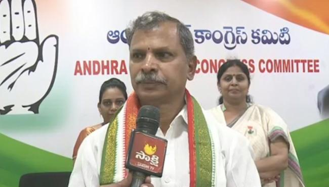 Congress Leaders Confirm His Party Alliance With Tdp - Sakshi