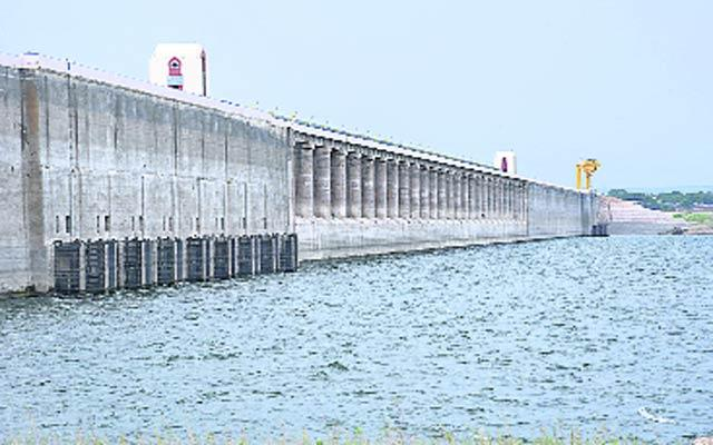 Water Flow In Nagarjuna Sagar - Sakshi